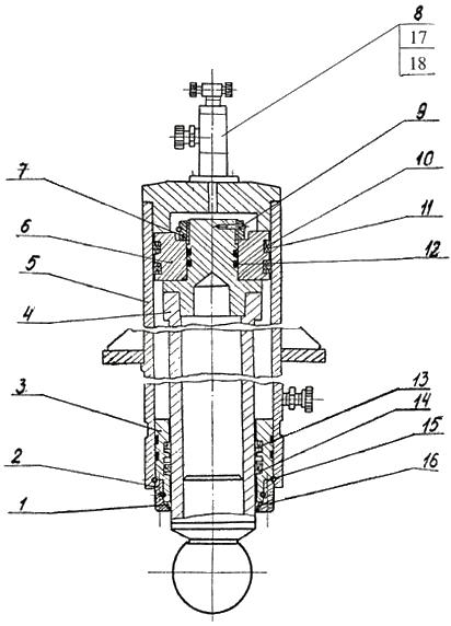 Гидроцилиндр домкрата
