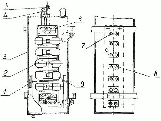 Блок гидроаппаратуры мачты