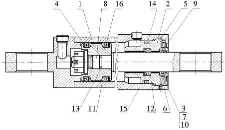 Гидроцилиндр I-125-63-800