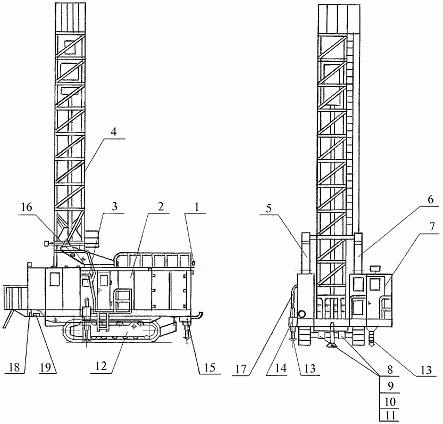 Буровой станок СБШ-250 МНА-32