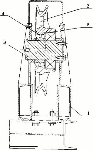 Опора блоков правая (левая)