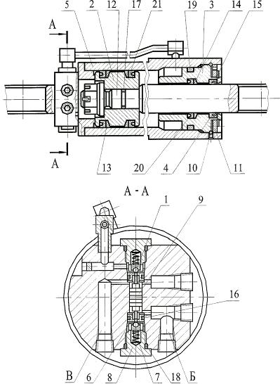 Гидроцилиндр I-100-50-630
