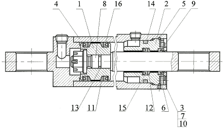 Гидроцилиндр I-100-50-360
