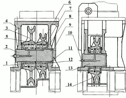 Блоки нижние правые (левые)